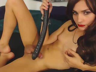 big dildo and cum
