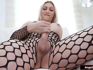 Busty Mexican tgirl Brittany Sophia solo show off n handjob