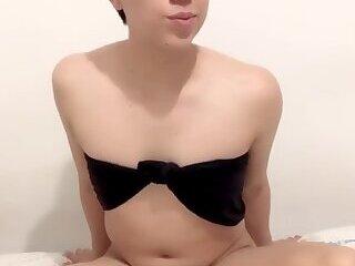 Wonderful sissy abbycloe with a big ass